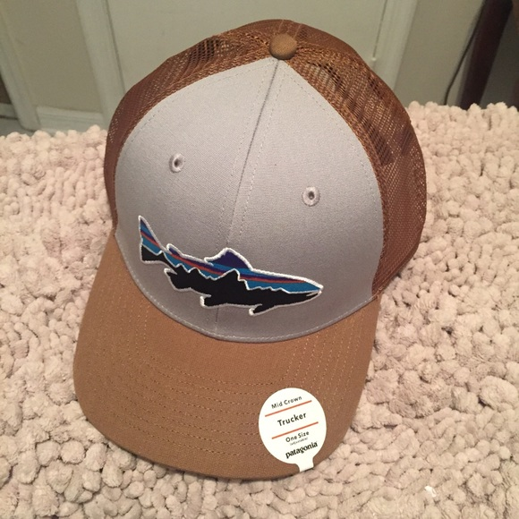 d579ec26a0bf7 Patagonia fitz Roy trout trucker hat